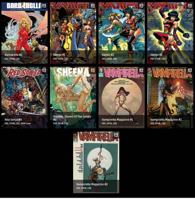 Warlord of Mars /& Dejah Thoris Collection Digital Comic PDF