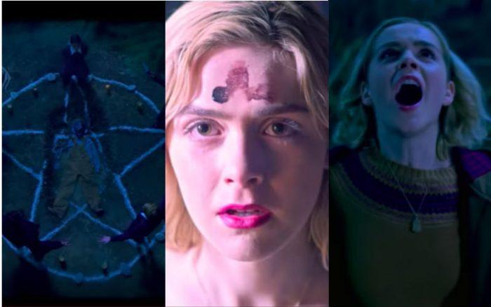 Netflix S Sabrina Characters Worship Satan Mock