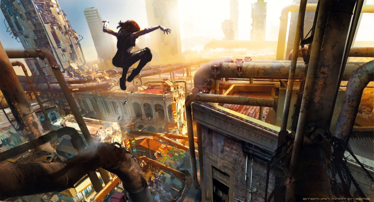 Alita Iron City Titan