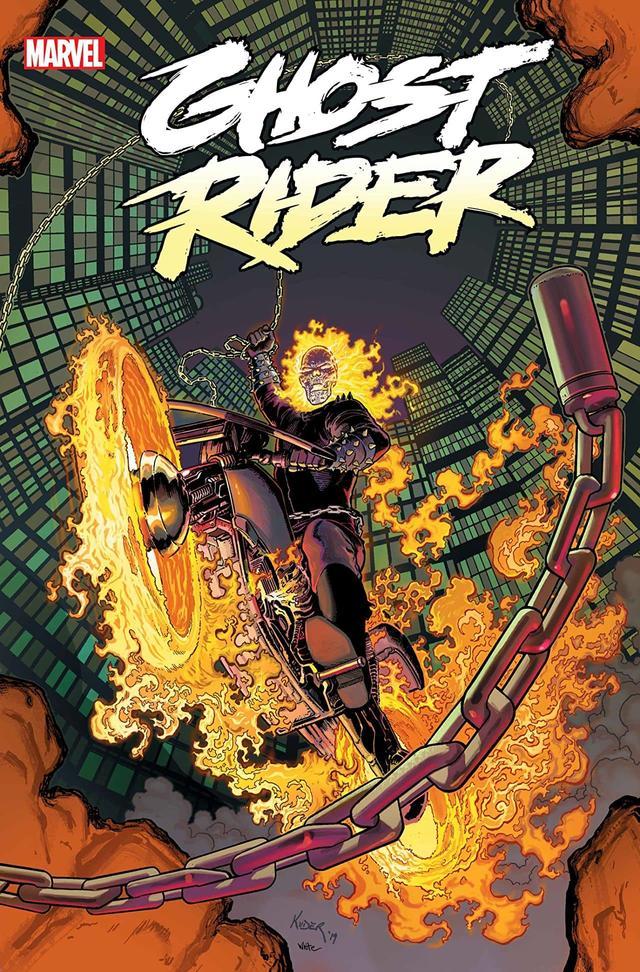 Blaze & Ketch Reunite in Ghost Rider #1 Roars Into Shops Oct