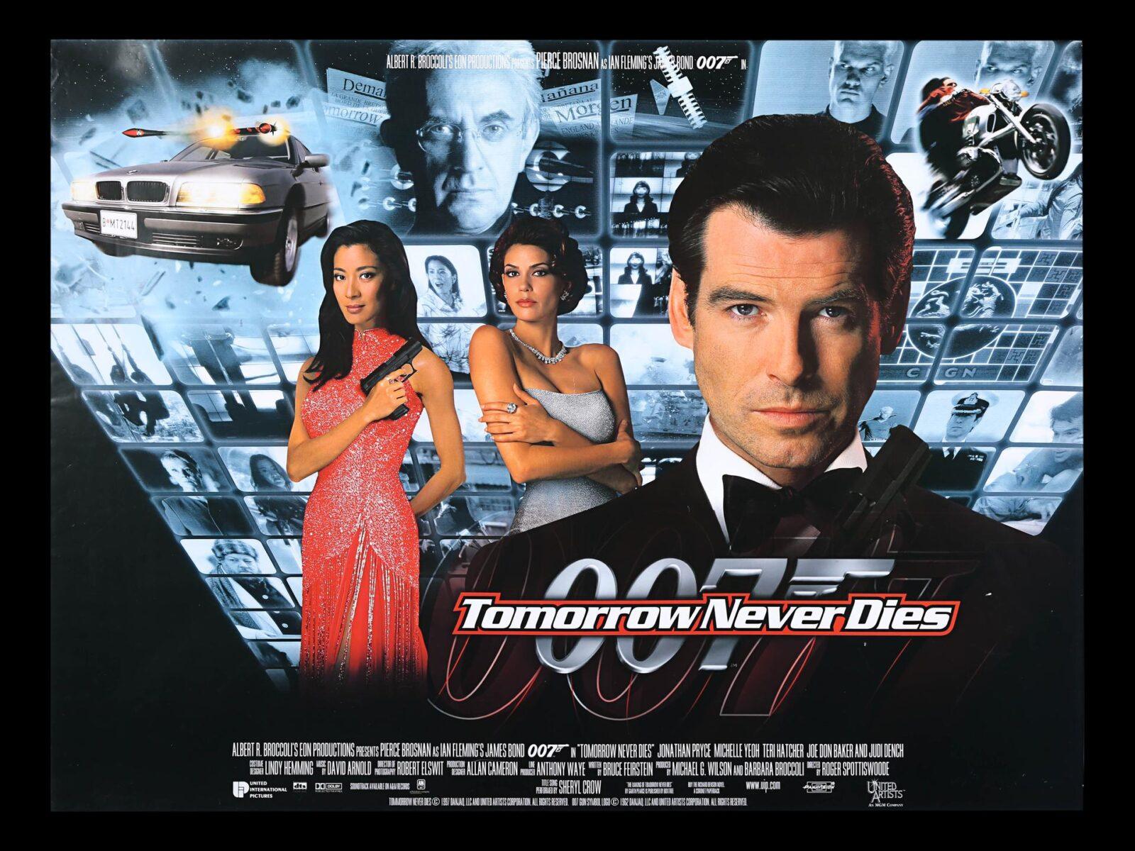 James Bond 007 Films Ranked 18 Tomorrow Never Dies 1997 Bleeding Fool