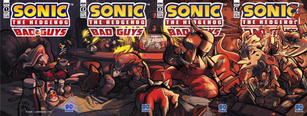 Sonic the hedgehog Bad guys
