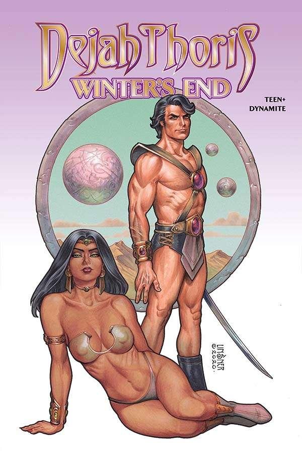 Dejah Thoris: Winter's End cover