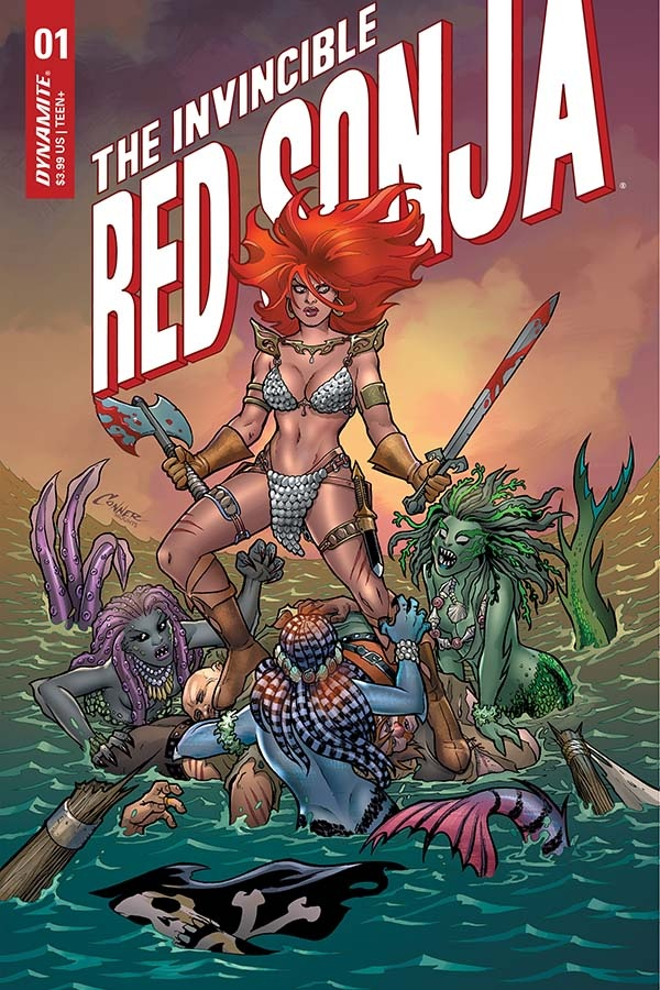 Invincible red sonja